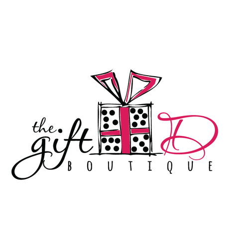 Event logo with the title 'Gift Boutique '