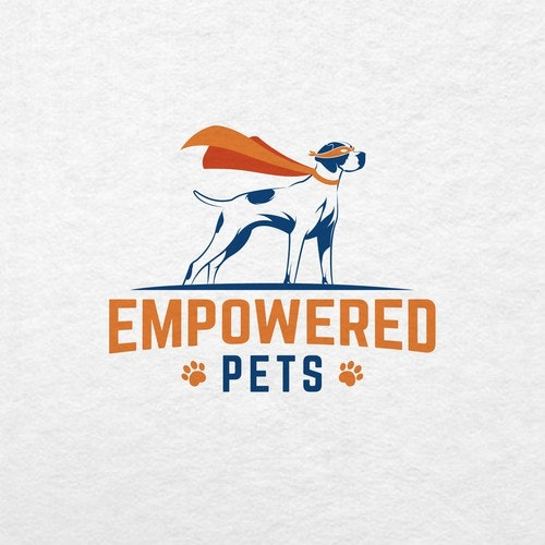Hospital logo with the title 'Empowered Pets'