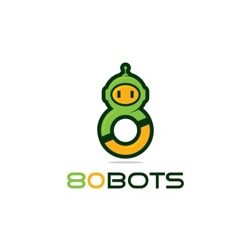 Robot logo with the title 'robots'