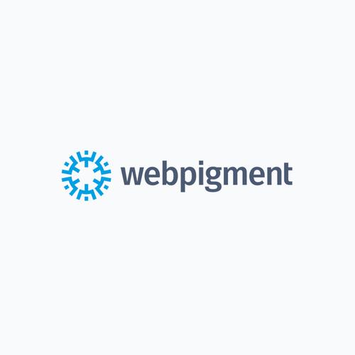 Studio logo with the title 'Explosive logo for a Wordpress development studio'