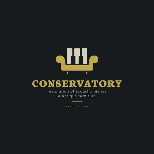 Furniture logo with the title 'Conservatory '
