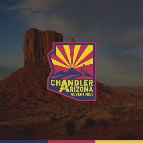 Arizona logo with the title 'Chandler Arizona'