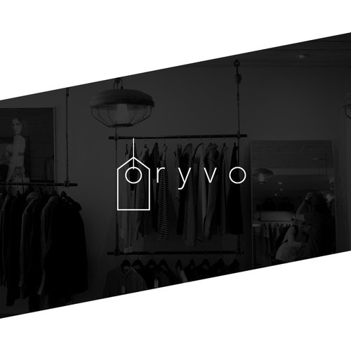 Shop logo with the title 'Logo concept for a retail website'