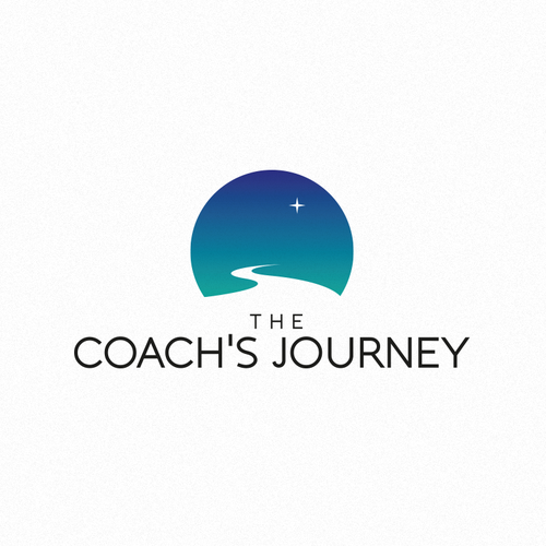 Growing logo with the title 'The Coach Journey'