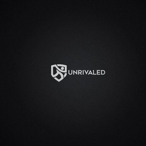 Icon logo with the title 'Logo design for Unrivaled'