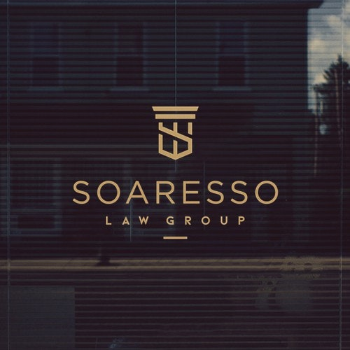 Classy logo with the title 'Soaresso law group'