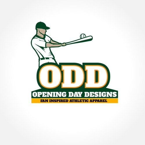 "Player logo with the title 'Logo for ""Opening Day Designs""'"
