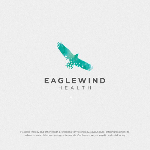 Wellness logo with the title 'Eaglewind Health'
