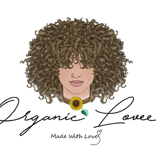 Hippie logo with the title 'Afro hippie logo design'
