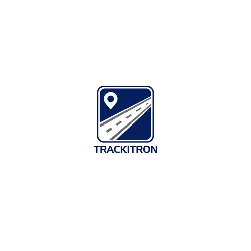 Track logo with the title 'trackitron '