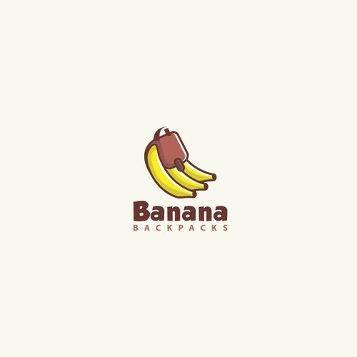 Diet logo with the title 'Banana Backpacks'