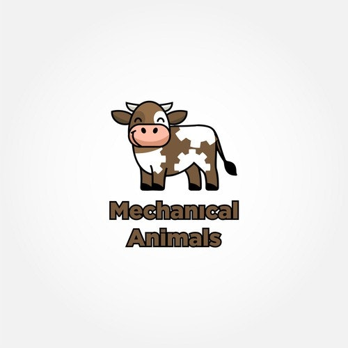 Beef logo with the title 'Mechanical Cow'