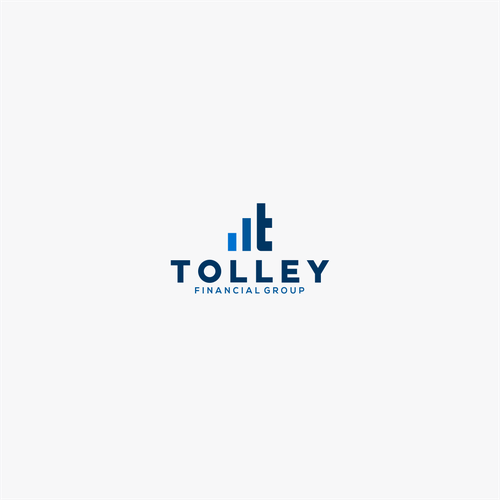 Letter T logo with the title 'Tolley'