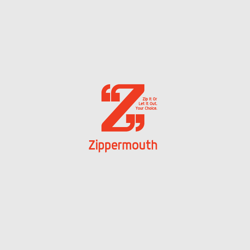 Letter Z logo with the title 'Logo Concept for Goodies Shop'