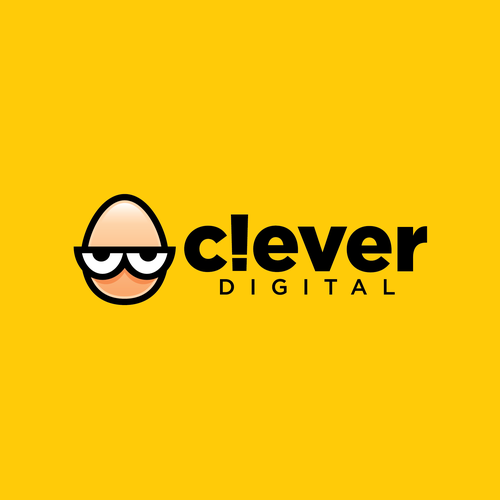 Egg logo with the title 'Clever Digital'