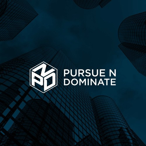 Networking logo with the title 'Pursue N Dominate'