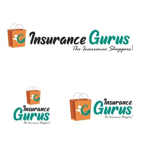 Shop logo with the title 'Insurance Guru'