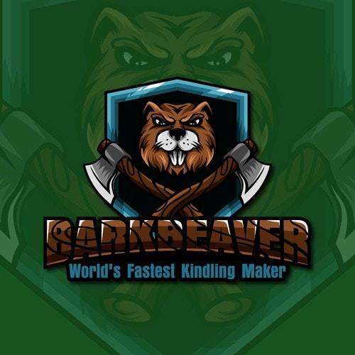 Beaver logo with the title 'Beaver mascot'