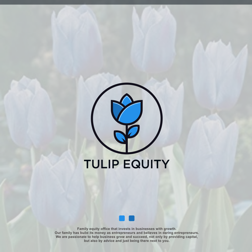 Tulip logo with the title 'TUPI EQUITY'
