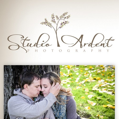 Female logo with the title 'Studio Ardent Photography needs a new logo'
