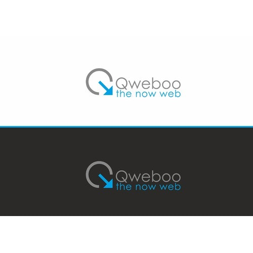 Q logo with the title ' QWEBOO - Q'