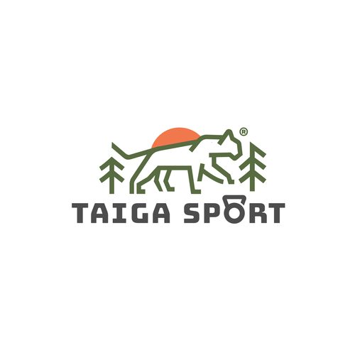 Jungle logo with the title 'Taiga Sport '