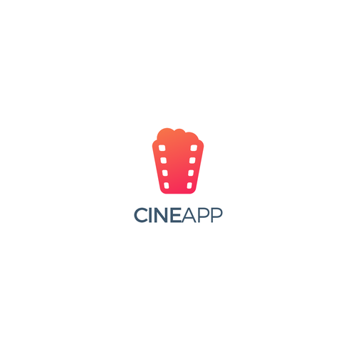 Cinematography logo with the title 'Cine App'