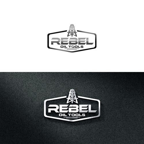 Oil and gas logo with the title 'REBEL OIL TOOLS'