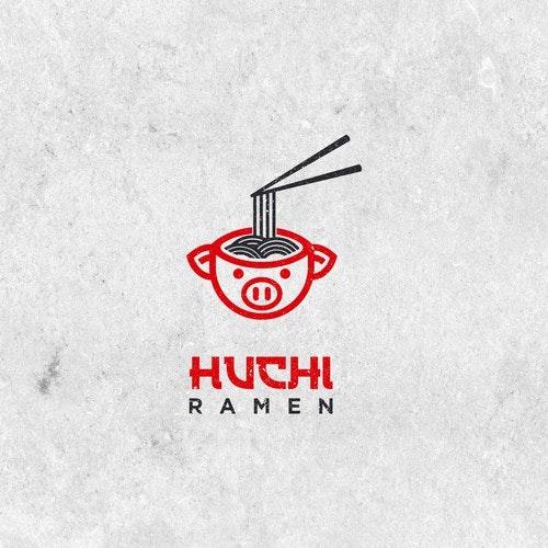 Ramen logo with the title 'Need a logo design for Japanese Ramen Restaurant in Austin, Texas'
