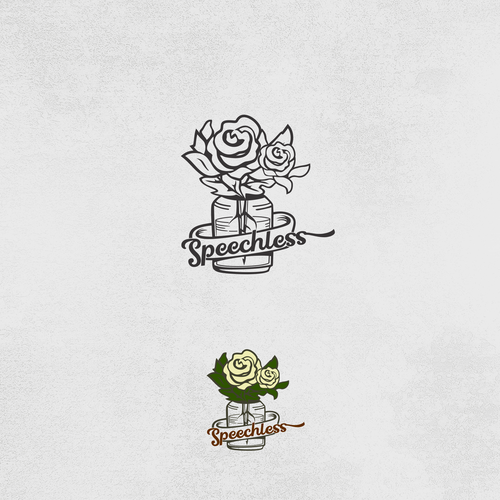 Pot logo with the title 'flower'
