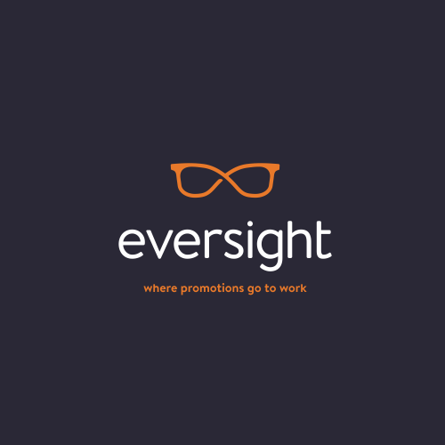 Infinity logo with the title 'Rebrand for eversight'