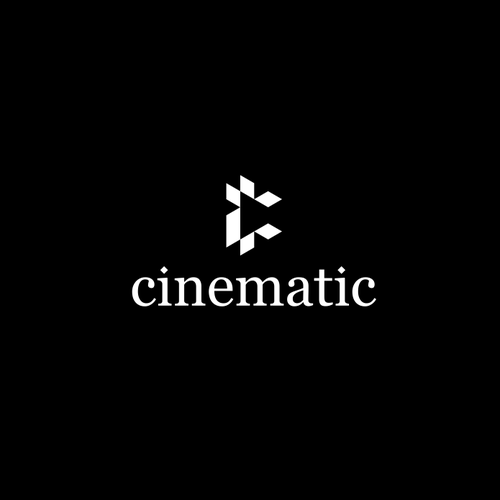Cinematography logo with the title 'cinematic'