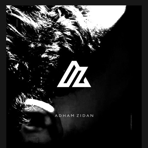 Iconic logo with the title 'Clean monogrammatic mark for Adham Zidan'