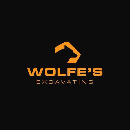 Engineering logo with the title 'Logo Concept for Wolfe's Excavating || Available'