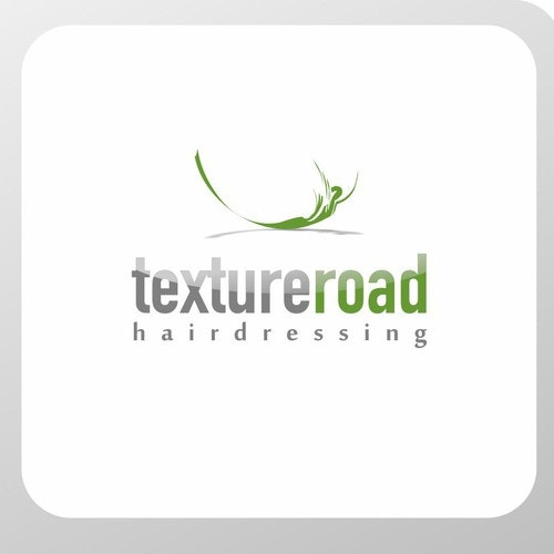 Hair dresser logo with the title 'Logo design for hairdressing'