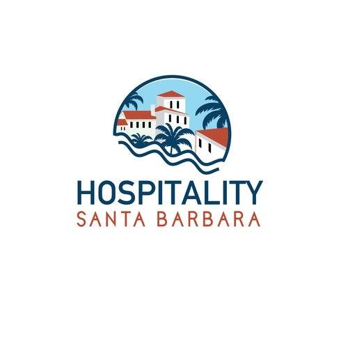 Hospitality logo with the title 'Association Hospitality Santa Barbara'