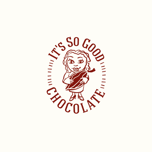 Cocoa logo with the title 'It's so good chocolate'
