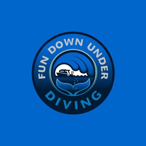 Sea logo with the title 'Logo for dive shop in mexican riviera'