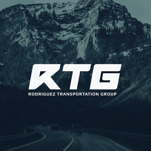Road logo with the title 'Logo concept for RTG'