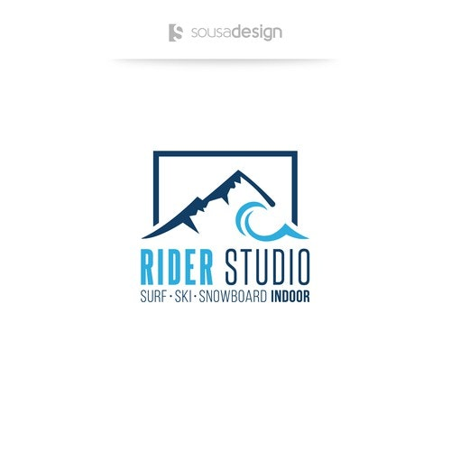 Winter logo with the title 'Logo for indoor radical sports company'