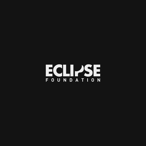 Eclipse logo with the title 'Smart logo for a non-profit foundation'