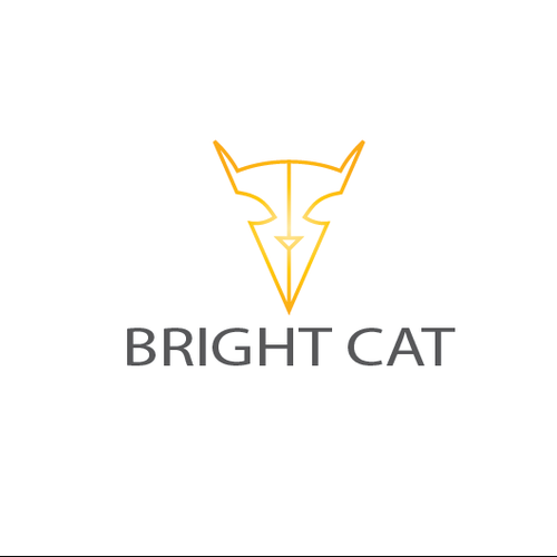 Bright logo with the title 'Bright Cat needs a new logo'