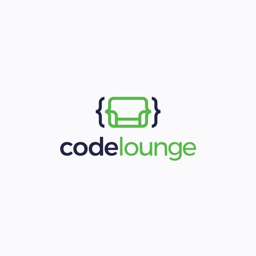 Research logo with the title 'Code lounge'