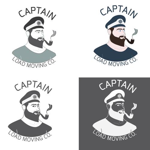 Captain logo with the title 'captain-1'