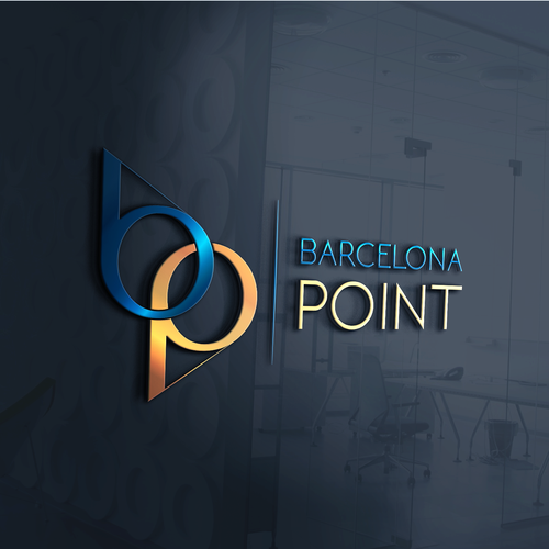Point logo with the title 'Simple logo that represents a private gated home and lifestyle'