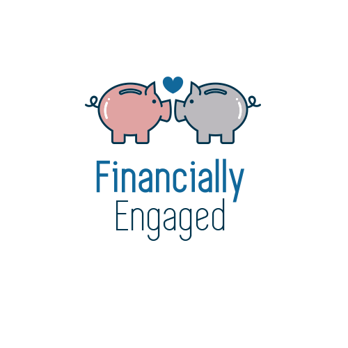 Finance logo with the title 'Financially Engaged Logo Design'