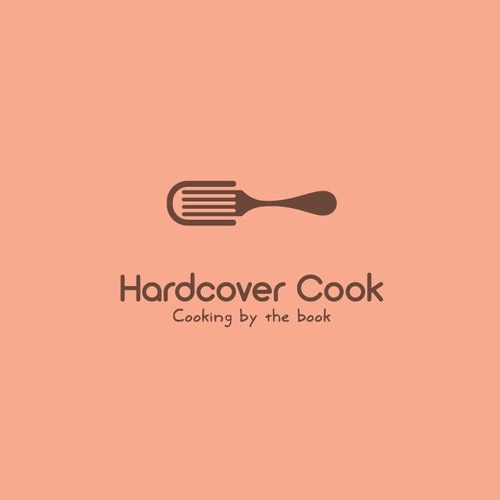 Reading logo with the title 'Hardcover Cook'