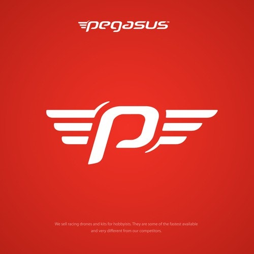 Racing logo with the title 'Pegasus Logo'