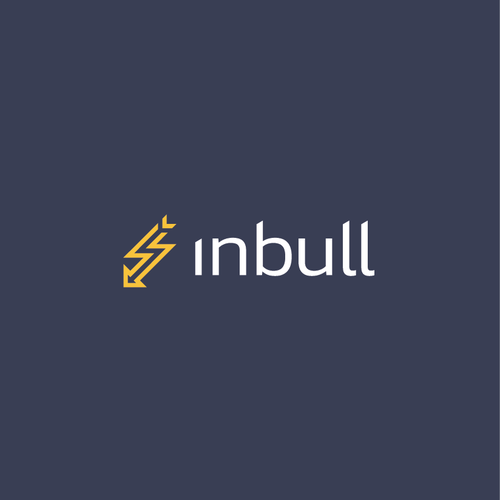 Sleek logo with the title 'Inbull Logo'