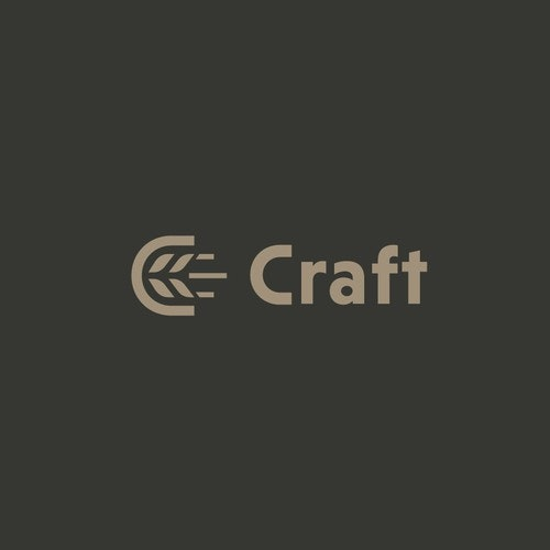 Hops logo with the title 'Craft Beer'